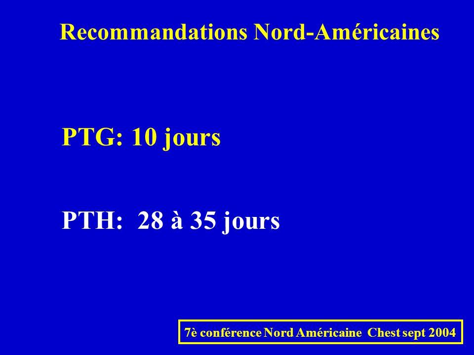 7è conférence Nord Américaine Chest sept 2004