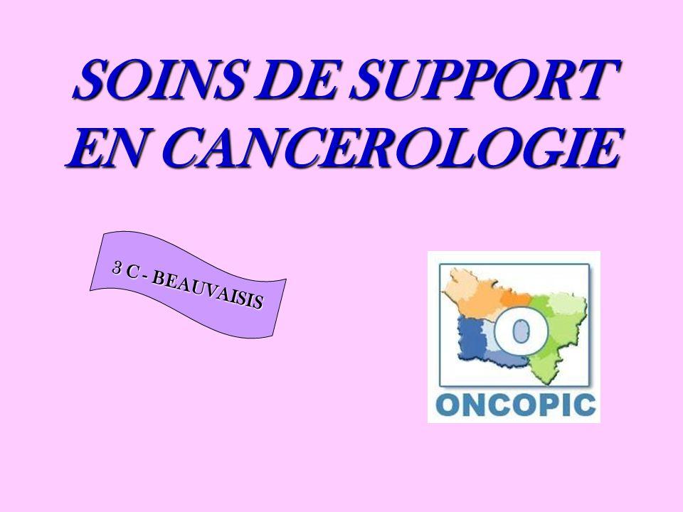 SOINS DE SUPPORT EN CANCEROLOGIE