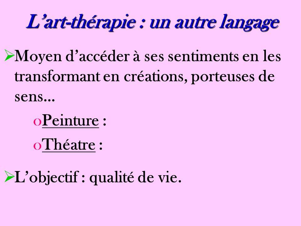 L'art-thérapie : un autre langage