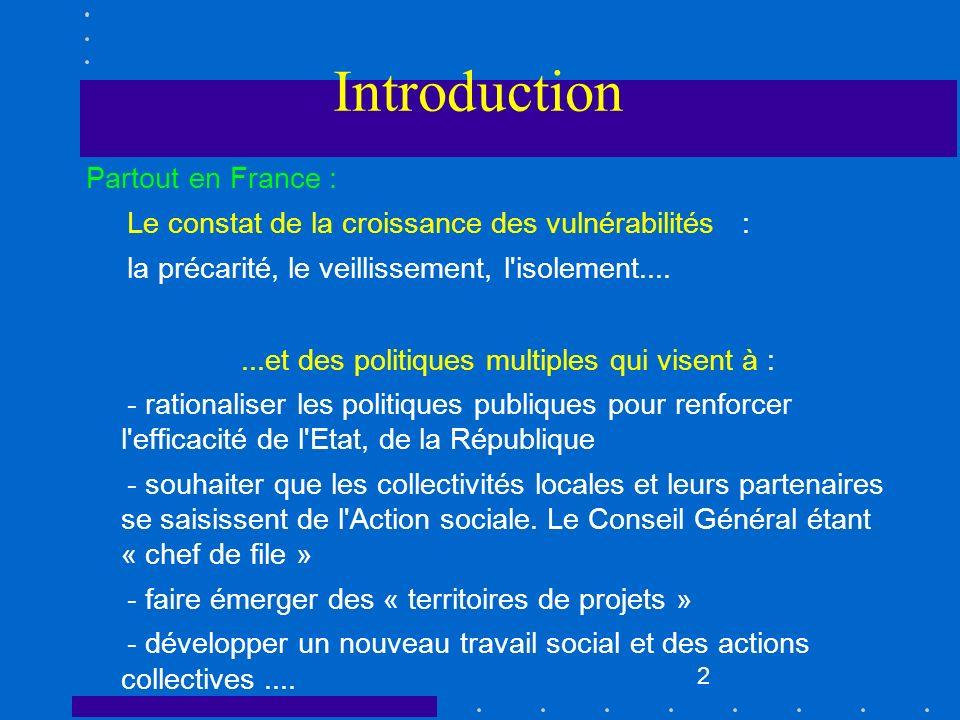 Introduction Partout en France :