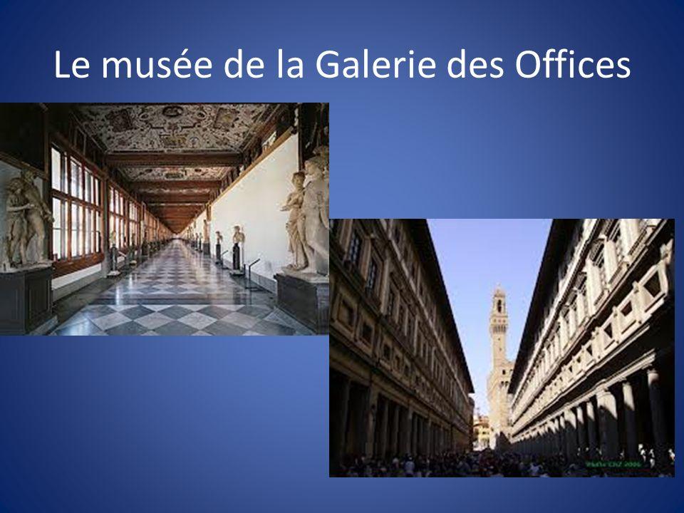 Le musée de la Galerie des Offices