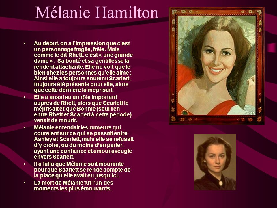 Mélanie Hamilton