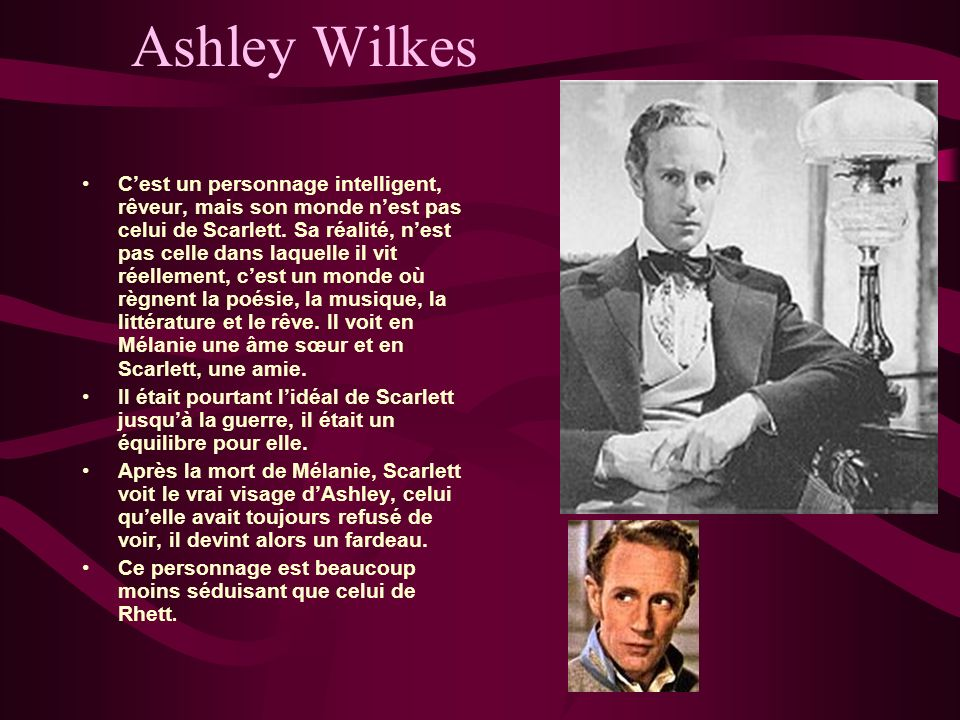 Ashley Wilkes