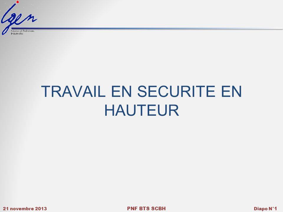TRAVAIL EN SECURITE EN HAUTEUR