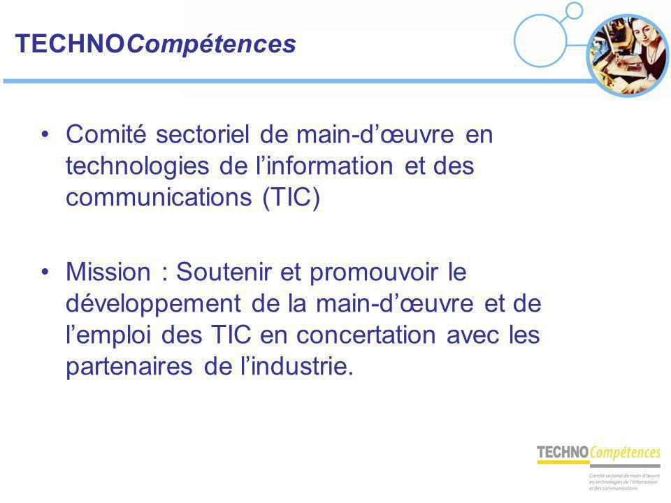 TECHNOCompétences Comité sectoriel de main-d'œuvre en technologies de l'information et des communications (TIC)