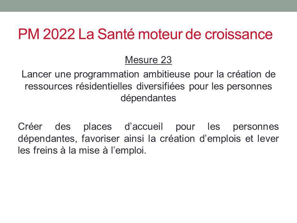 PM 2022 La Santé moteur de croissance