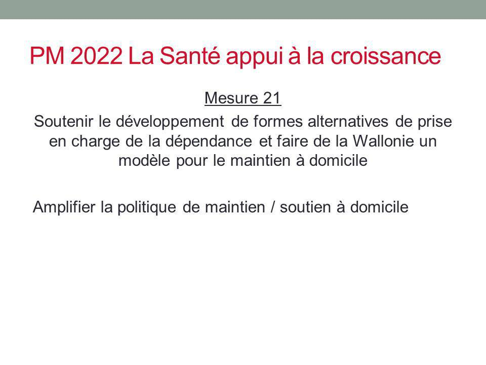 PM 2022 La Santé appui à la croissance