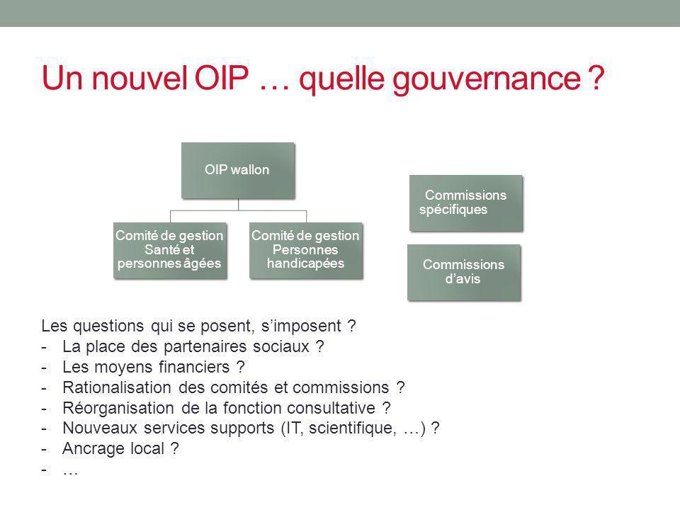 Un nouvel OIP … quelle gouvernance