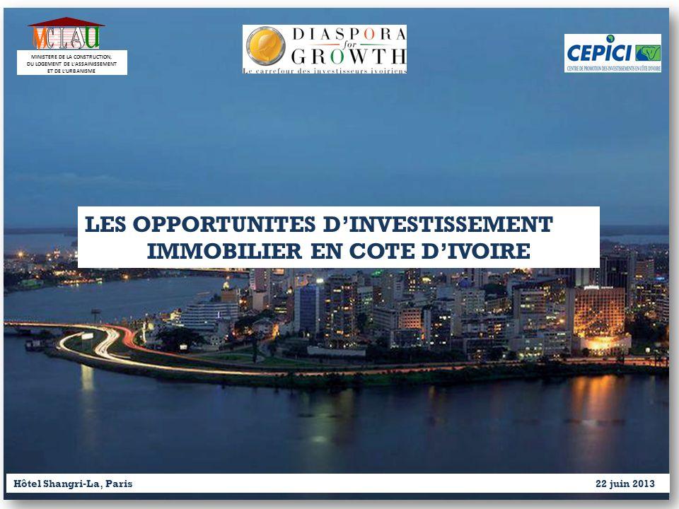 M C A U L LES OPPORTUNITES D'INVESTISSEMENT