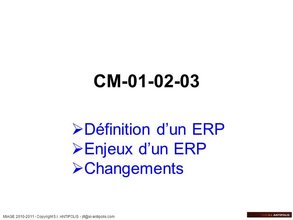 CM-01-02-03 Définition d'un ERP Enjeux d'un ERP Changements