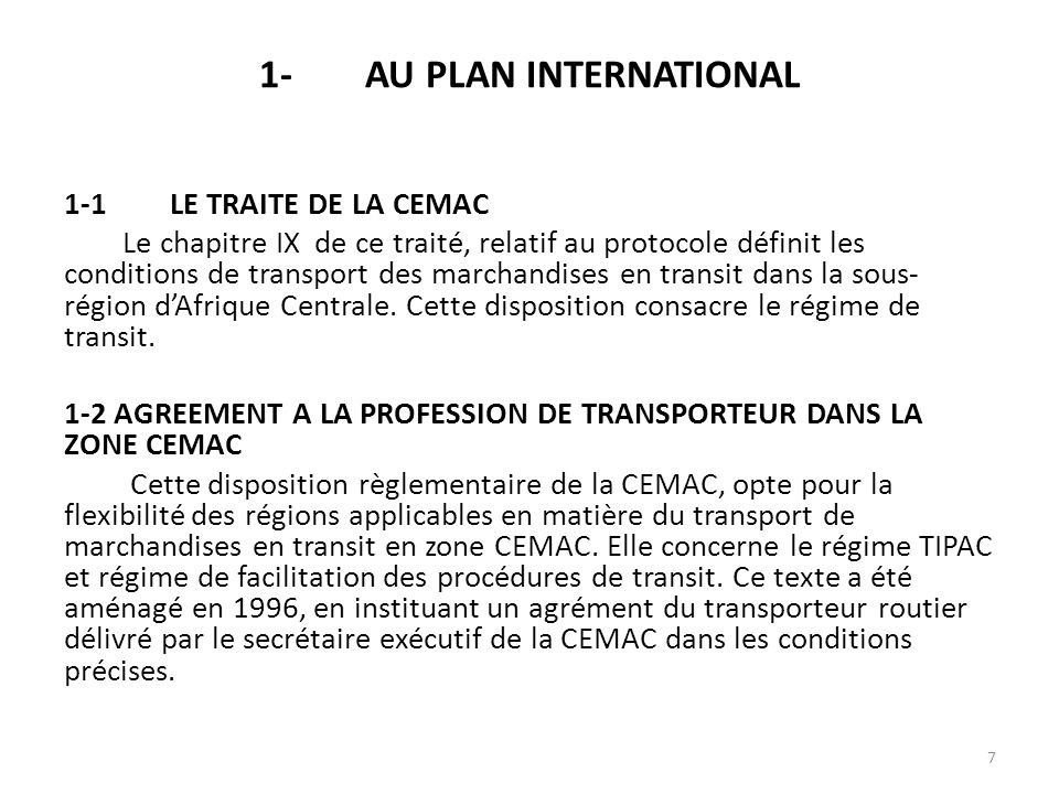 1- AU PLAN INTERNATIONAL