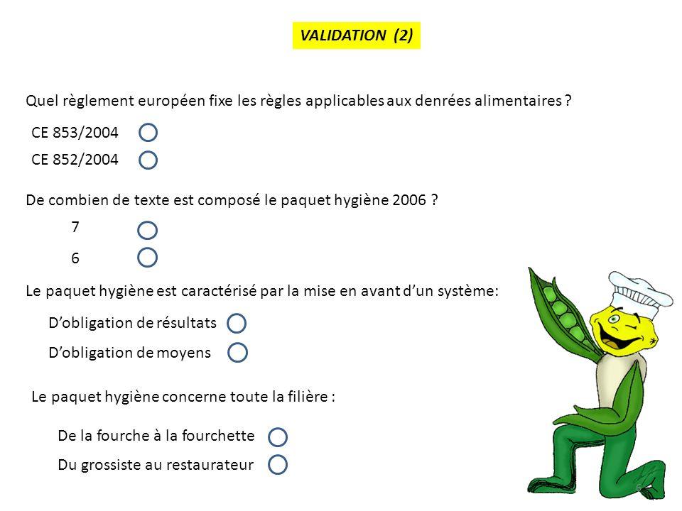 fixe des règles d' hygiène applicables aux denrées alimentaires
