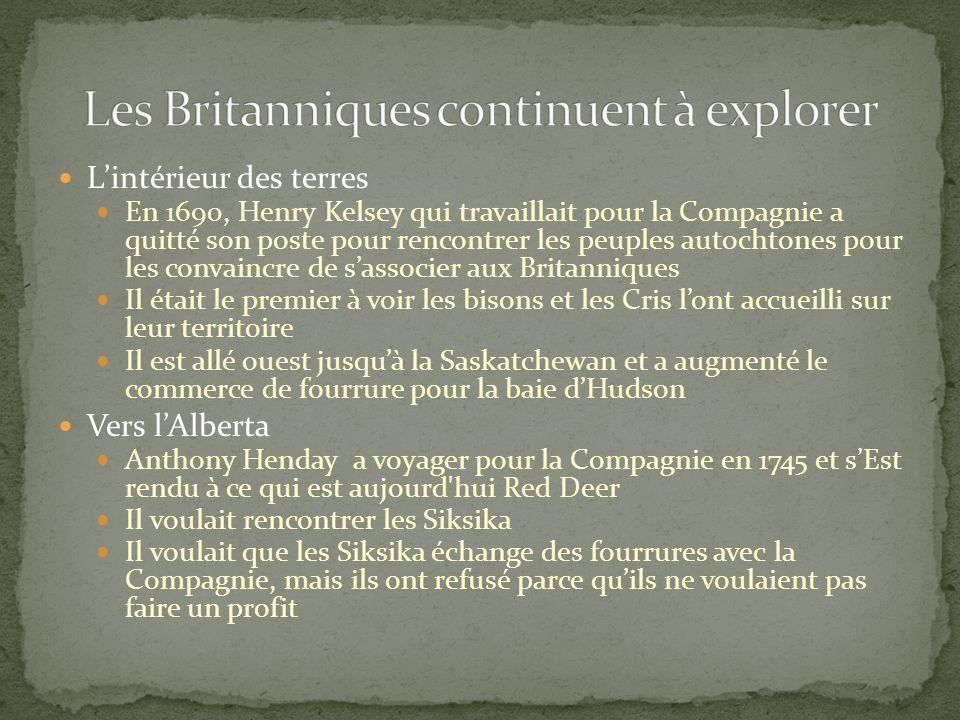 Les Britanniques continuent à explorer