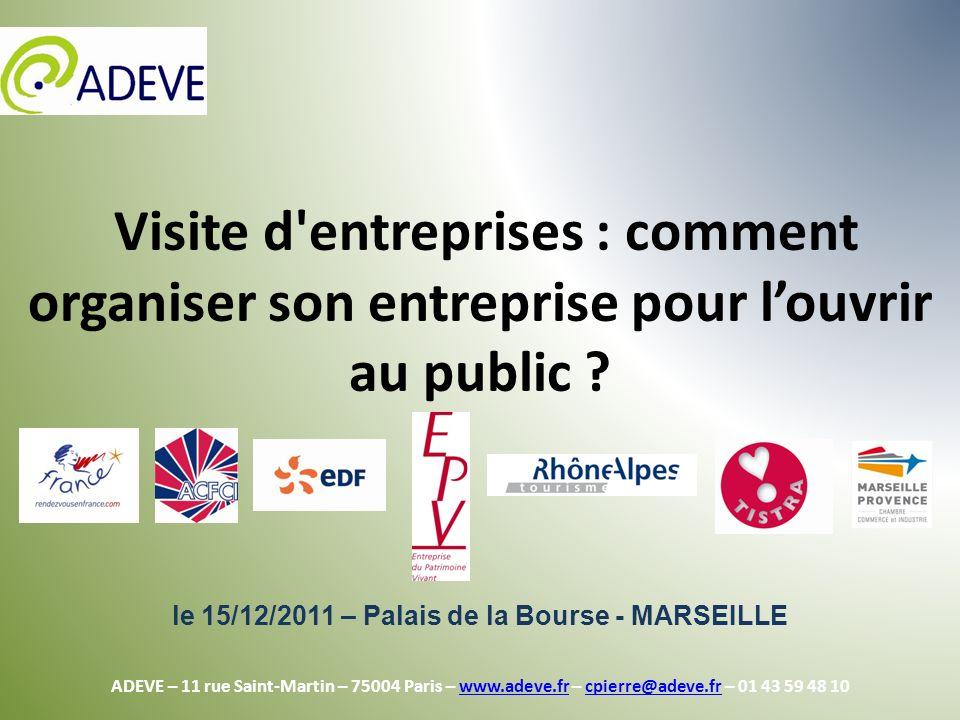 le 15/12/2011 – Palais de la Bourse - MARSEILLE