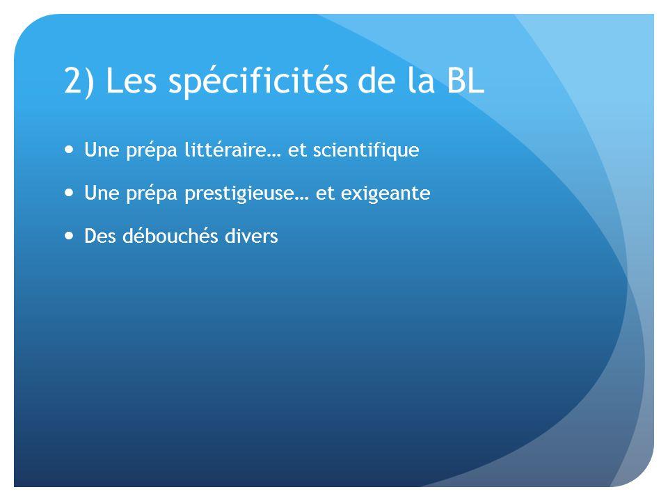 2) Les spécificités de la BL