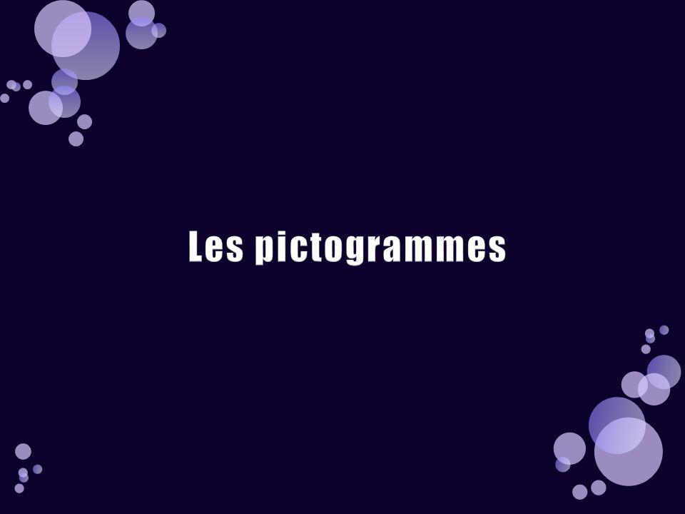 Les pictogrammes