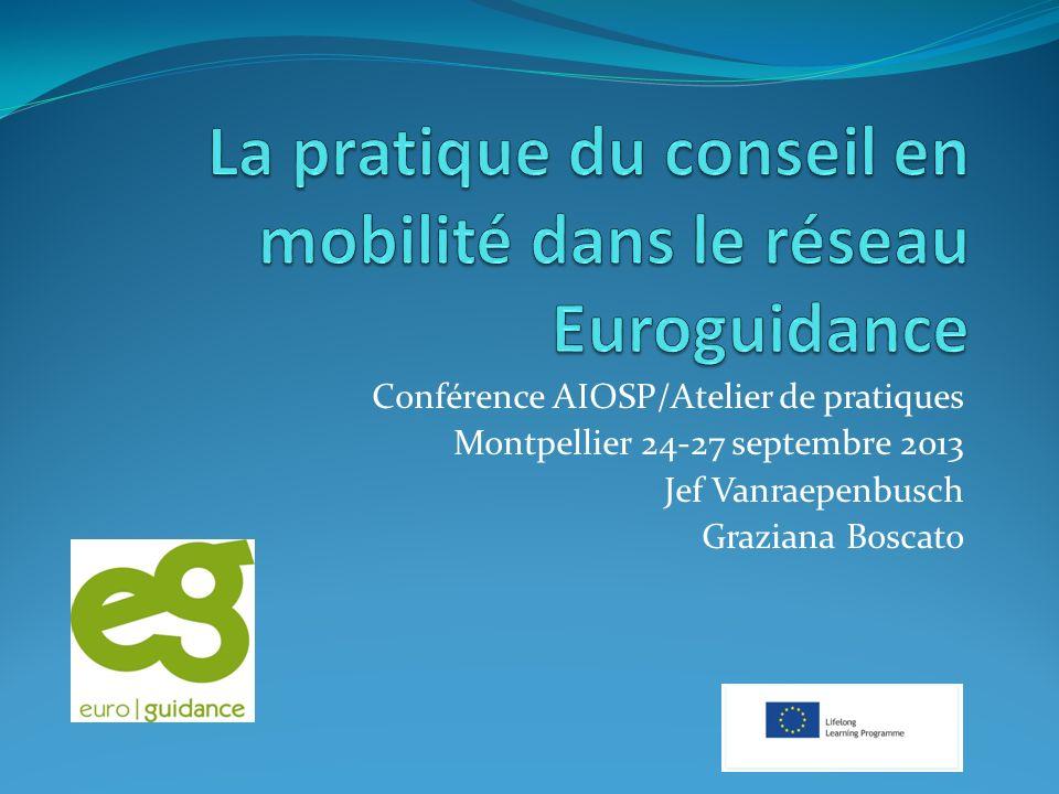 La pratique du conseil en mobilité dans le réseau Euroguidance