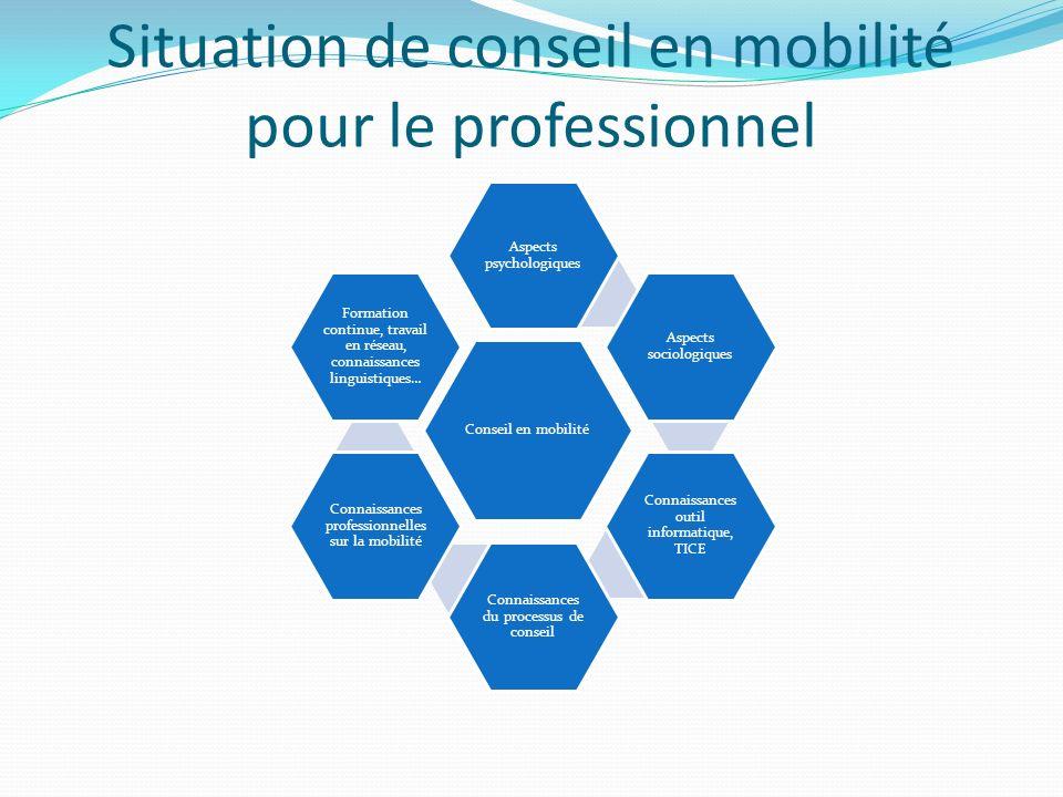 Situation de conseil en mobilité pour le professionnel