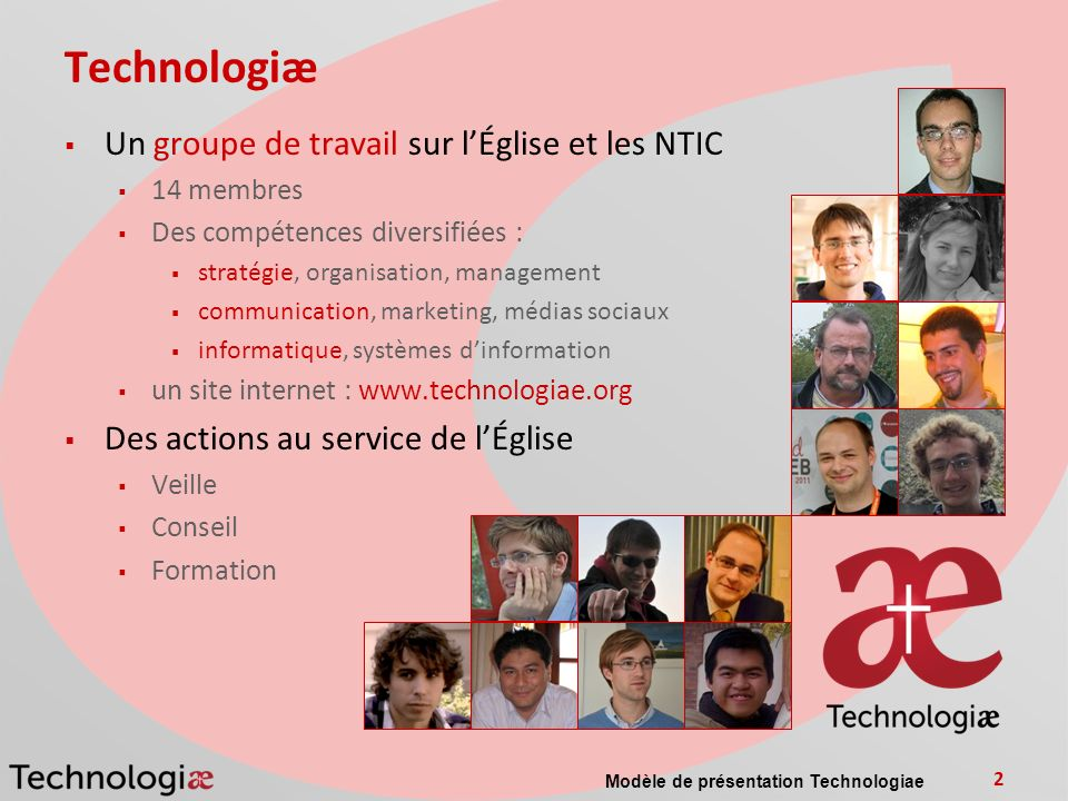 Technologiæ Un groupe de travail sur l'Église et les NTIC