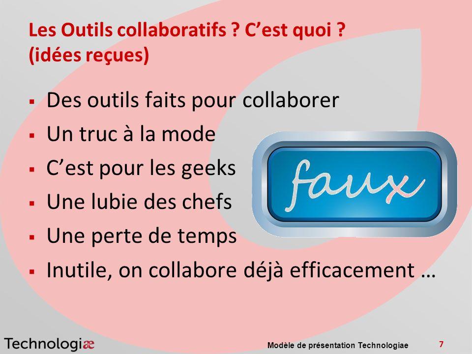 Les Outils collaboratifs C'est quoi (idées reçues)