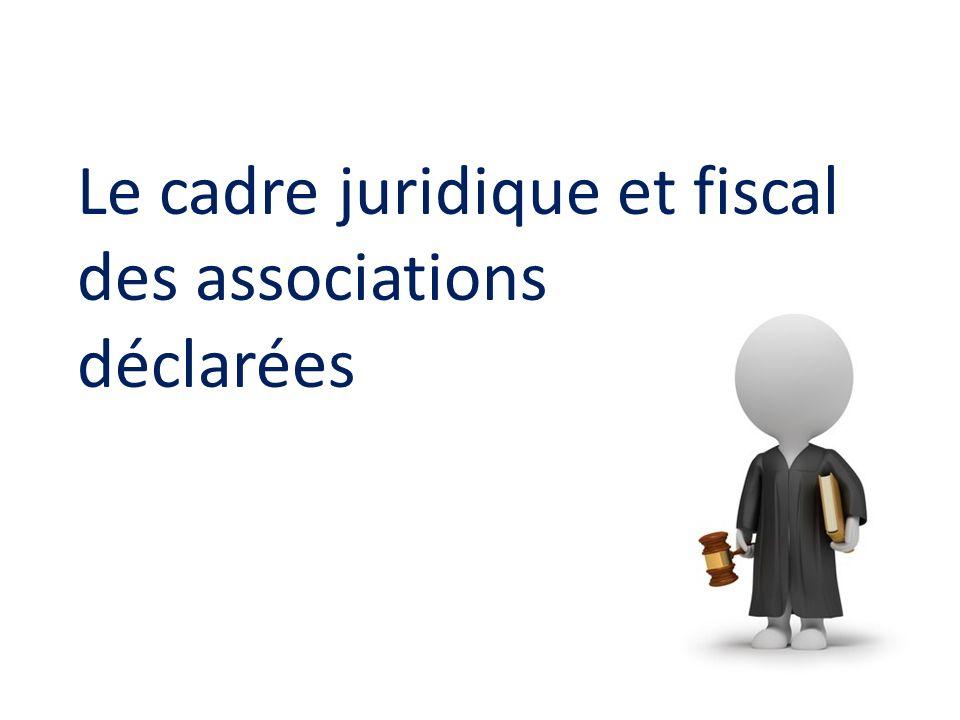 Le cadre juridique et fiscal des associations