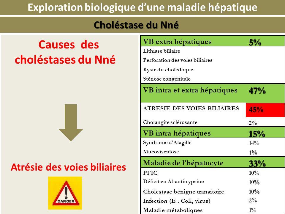 Exploration biologique d'une maladie hépatique