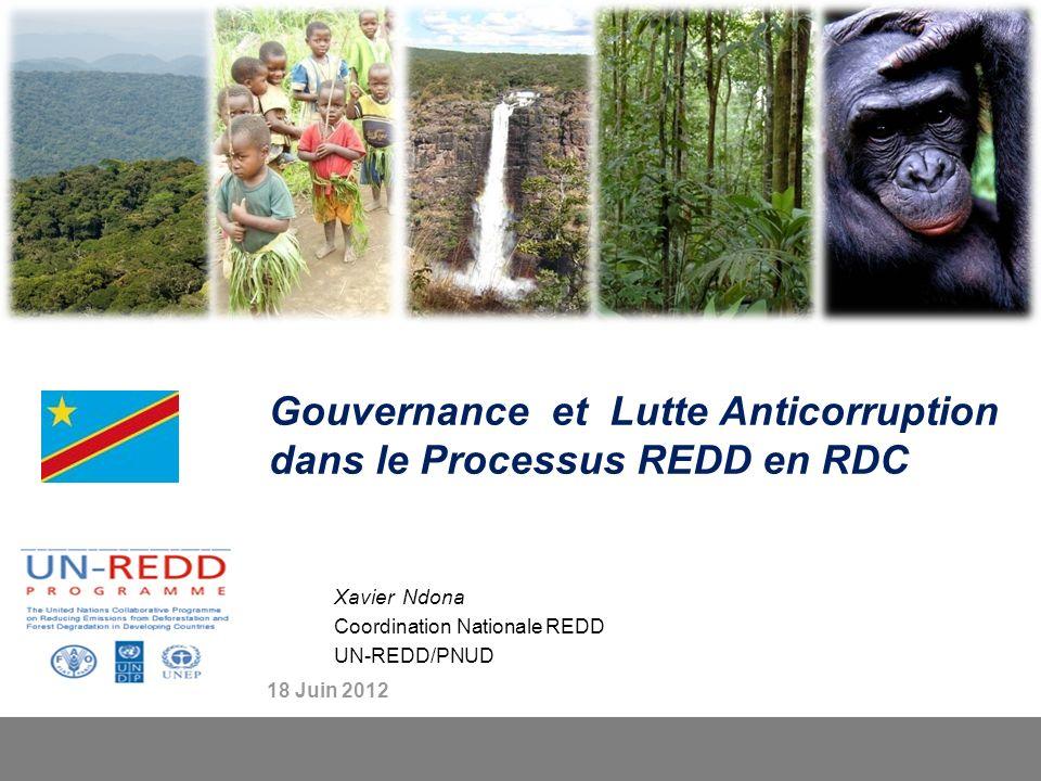 Gouvernance et Lutte Anticorruption dans le Processus REDD en RDC