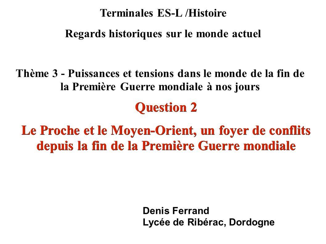 Terminales ES-L /Histoire