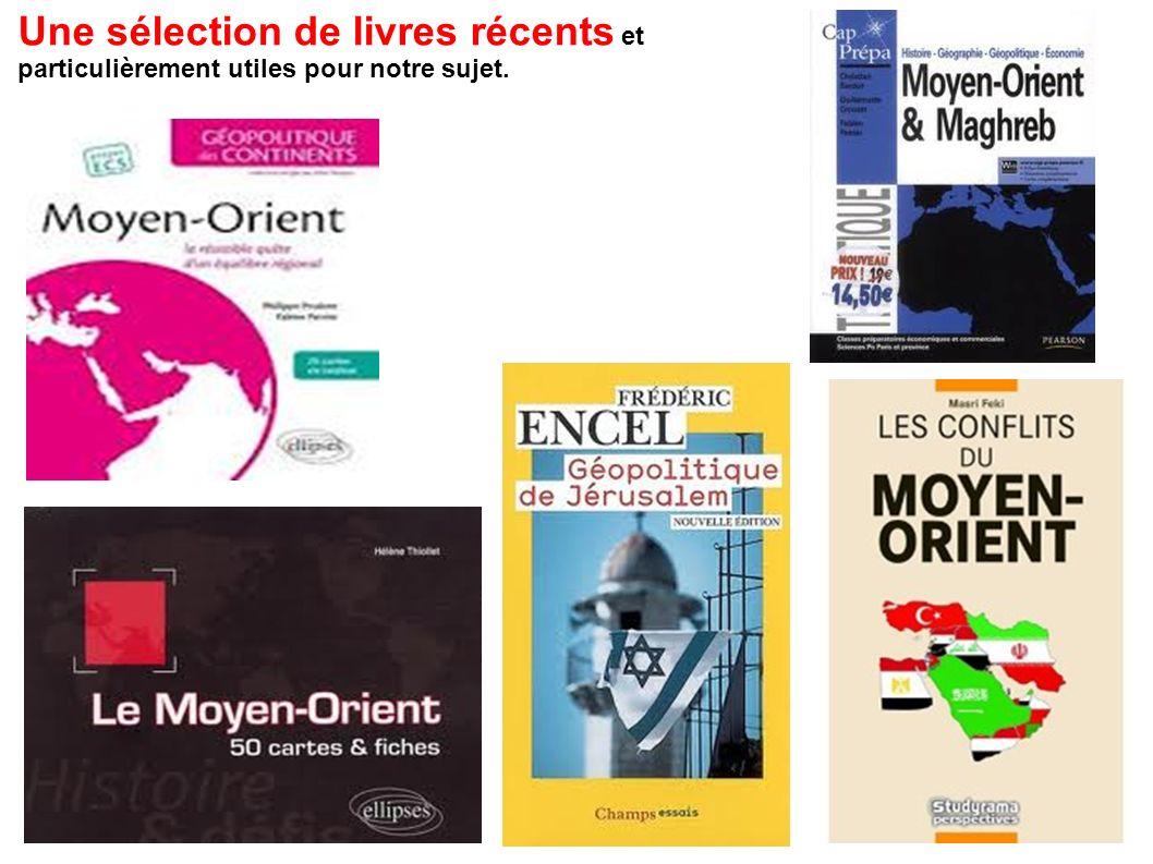 Une sélection de livres récents et particulièrement utiles pour notre sujet.