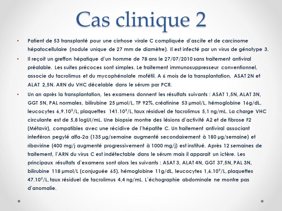 Cas clinique 2