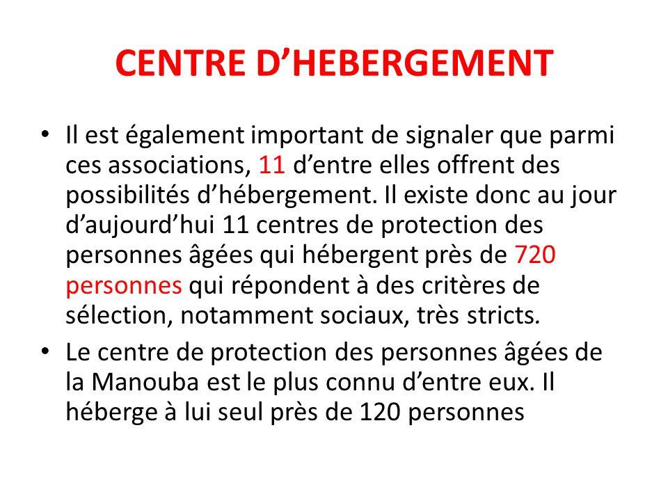 CENTRE D'HEBERGEMENT
