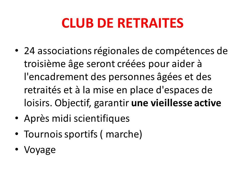 CLUB DE RETRAITES