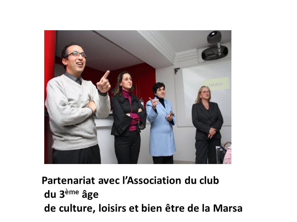 Partenariat avec l'Association du club