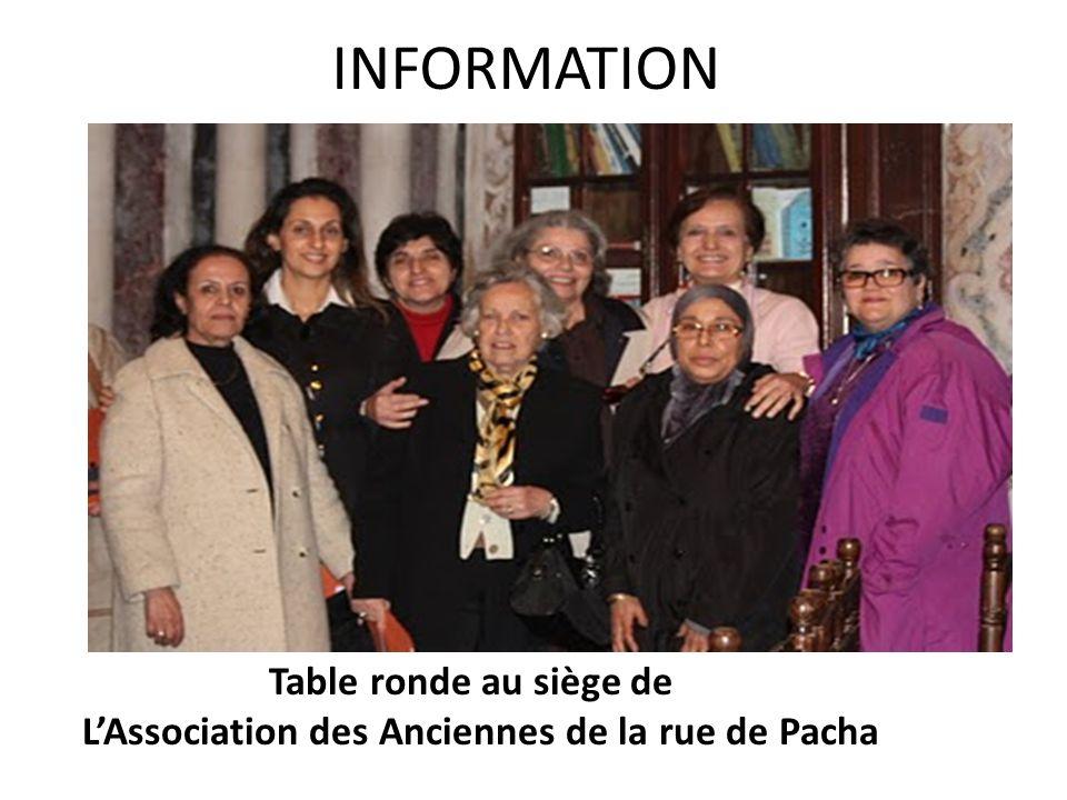 L'Association des Anciennes de la rue de Pacha