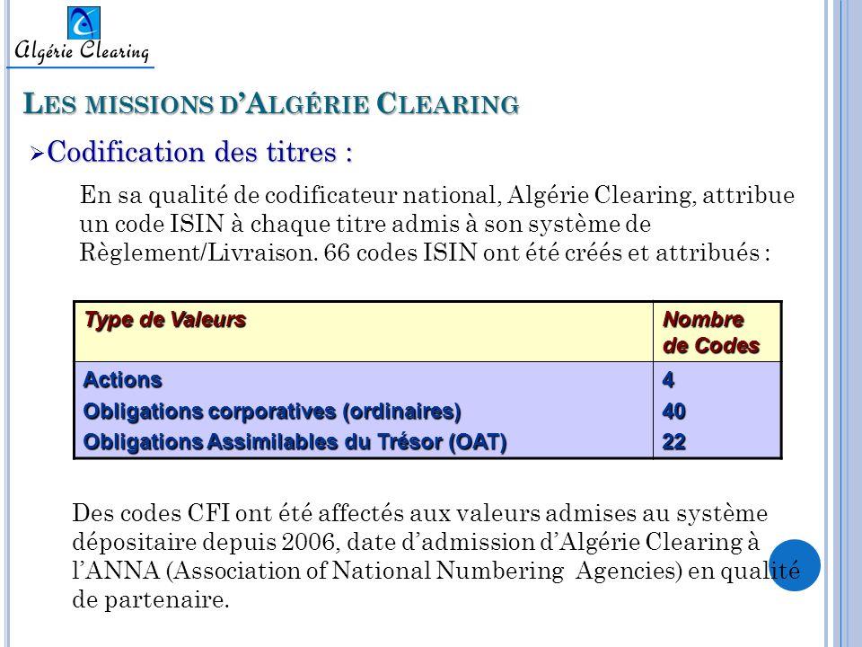 Les missions d'Algérie Clearing