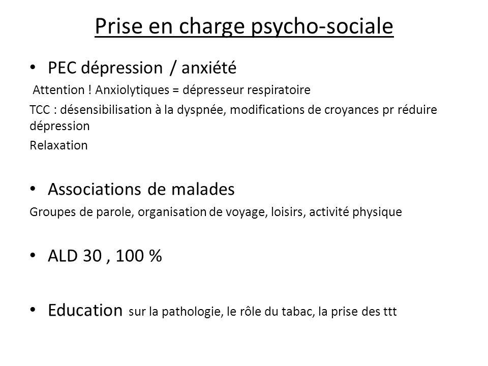 Prise en charge psycho-sociale