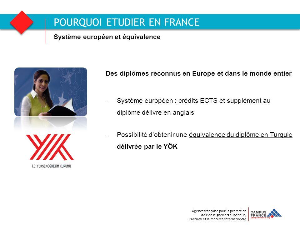 POURQUOI ETUDIER EN FRANCE