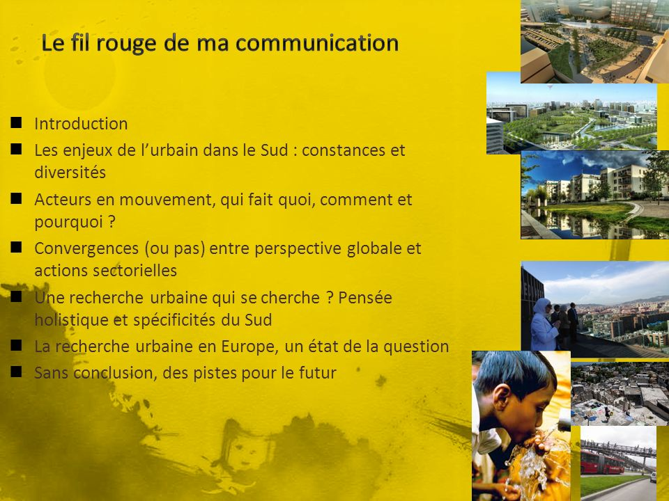 Le fil rouge de ma communication