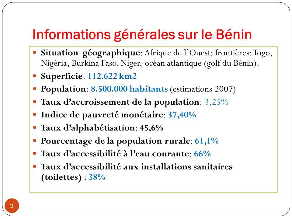 Informations générales sur le Bénin