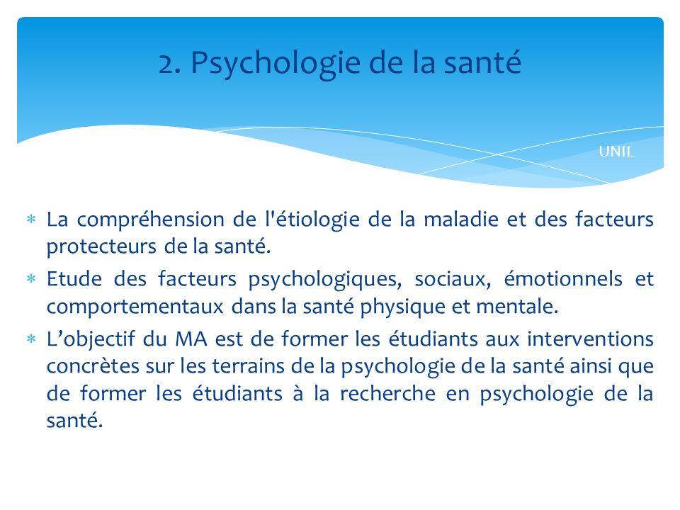 2. Psychologie de la santé