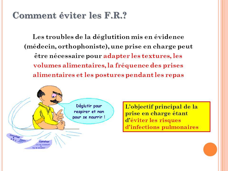 Comment éviter les F.R.