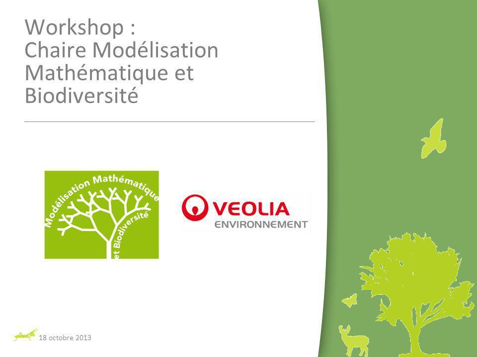 Workshop : Chaire Modélisation Mathématique et Biodiversité