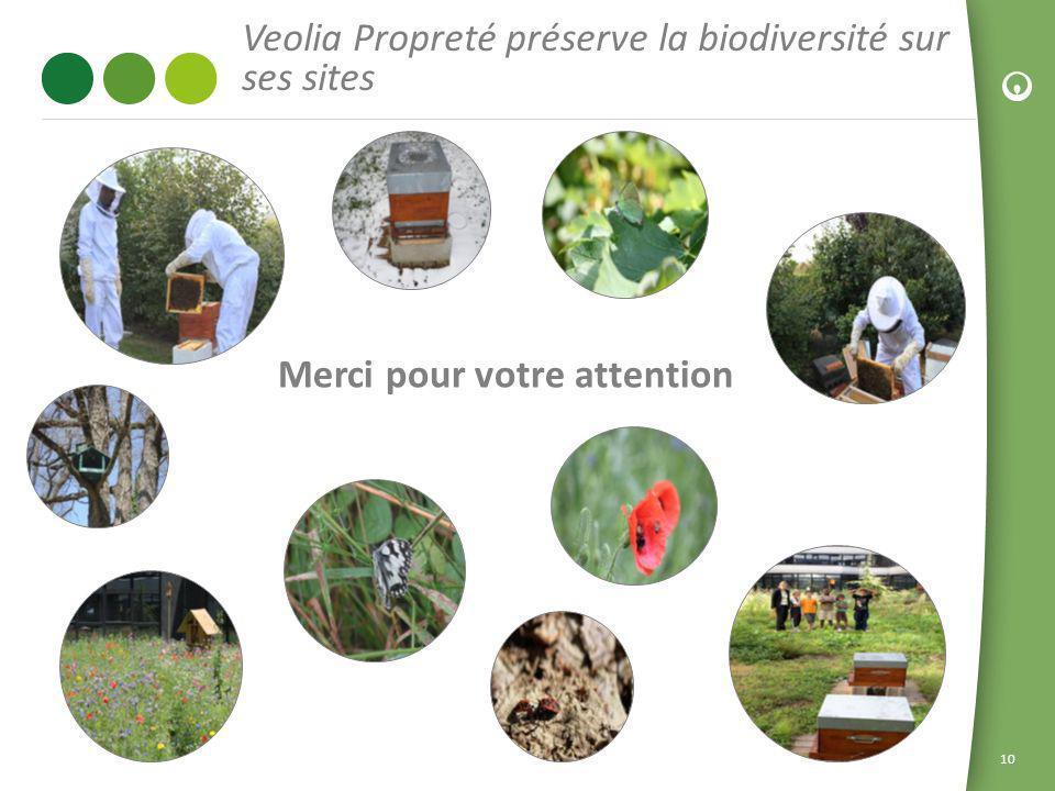 Veolia Propreté préserve la biodiversité sur ses sites