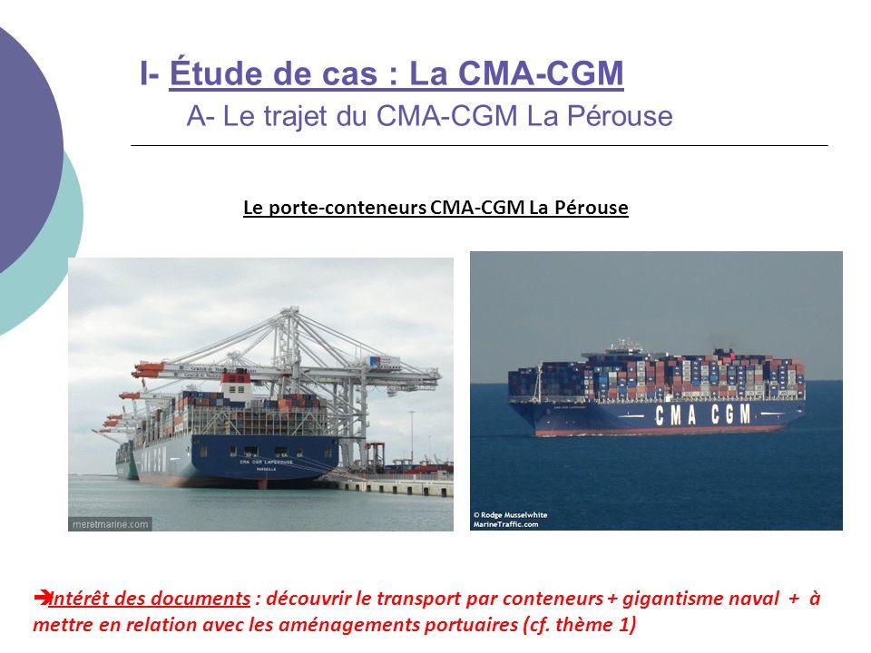 Le porte-conteneurs CMA-CGM La Pérouse