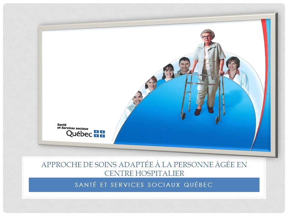 Approche de soins adaptée à la personne âgée en Centre hospitalier