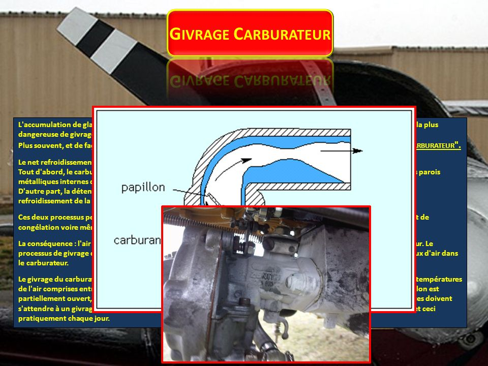 Givrage Carburateur