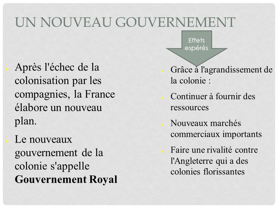 Un nouveau gouvernement