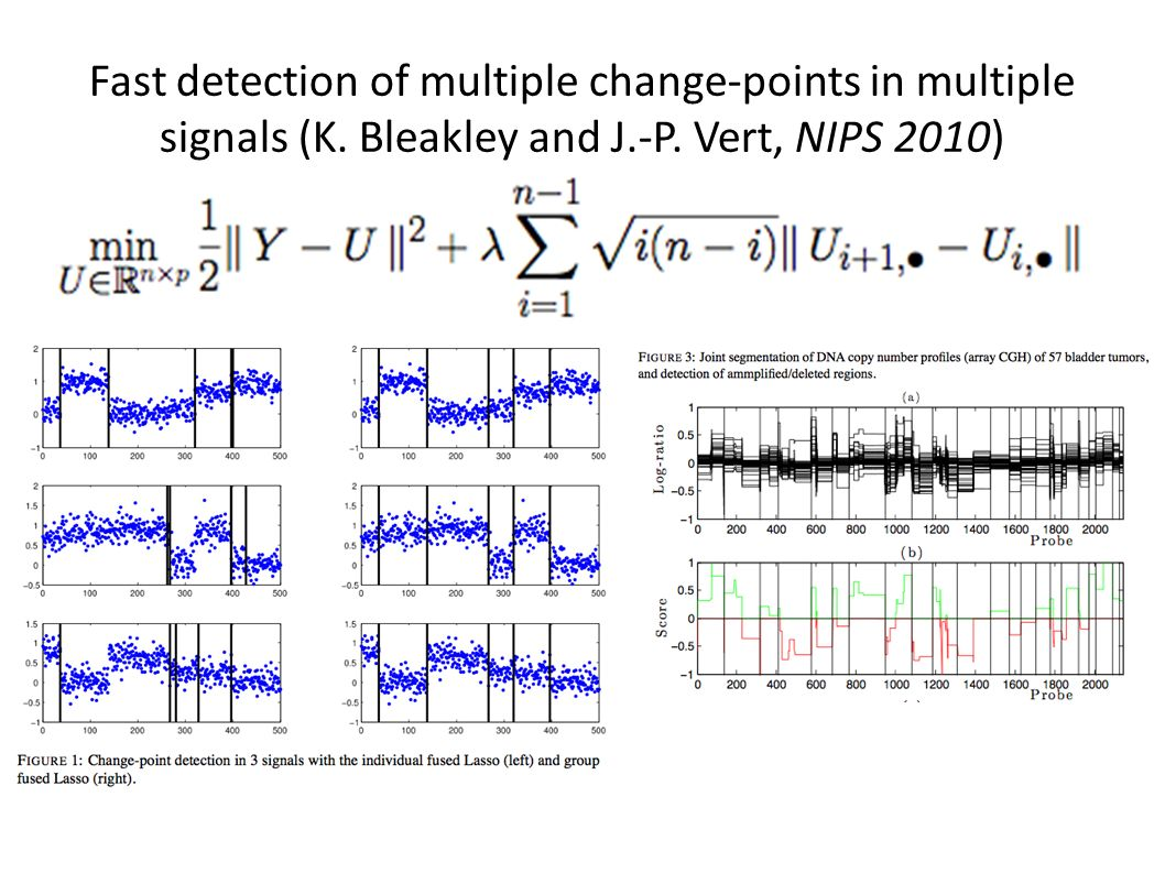 Fast detection of multiple change-points in multiple signals (K