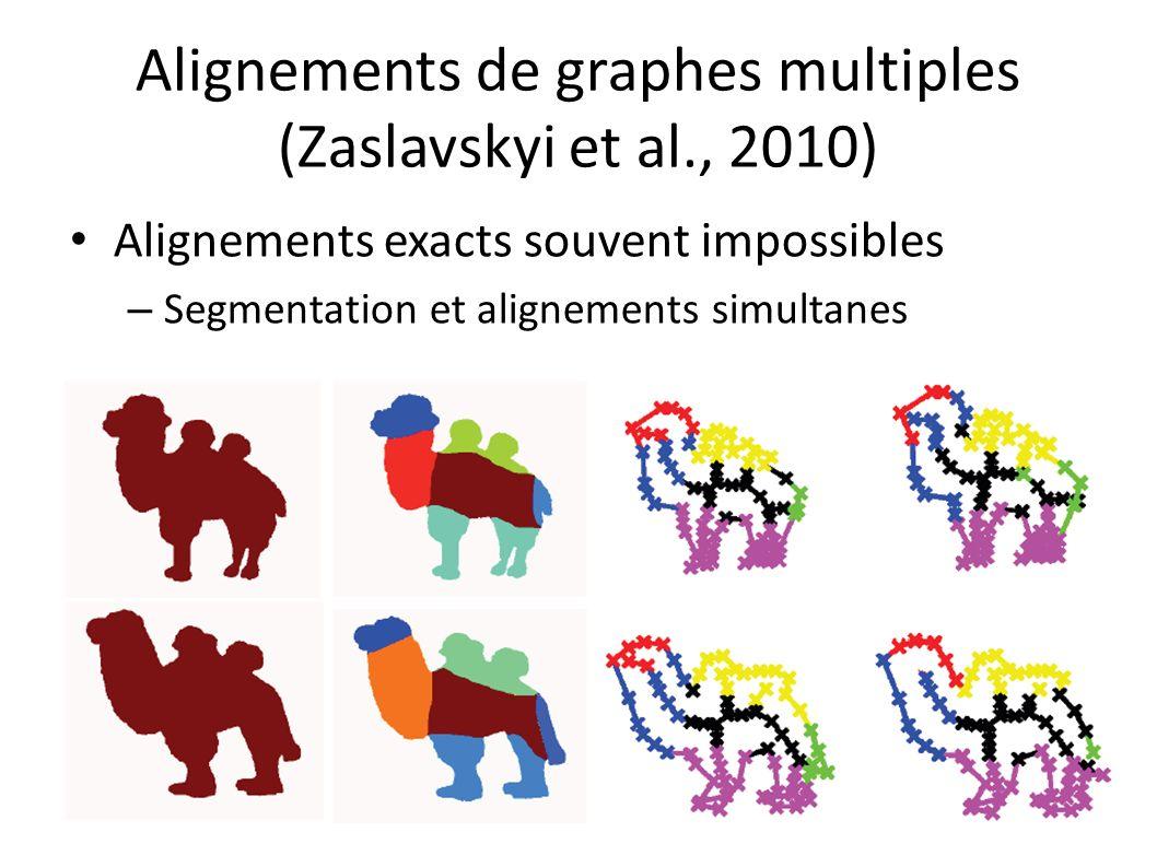Alignements de graphes multiples (Zaslavskyi et al., 2010)