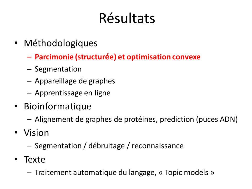 Résultats Méthodologiques Bioinformatique Vision Texte